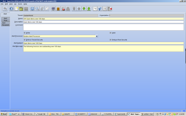 TenthPlanet_Compiere_Distribution_System_Admin_alert_Processor