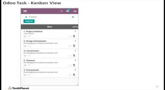 How to use OdooERP MobileApp for Project Management