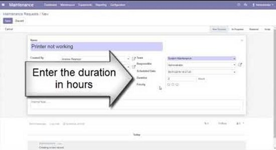 How to manage equipments in an Organization using Odoo ERP